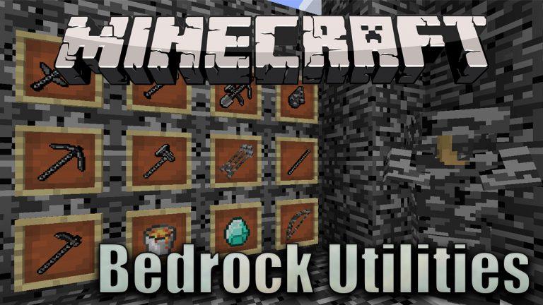 bedrock utilities minecraft mod