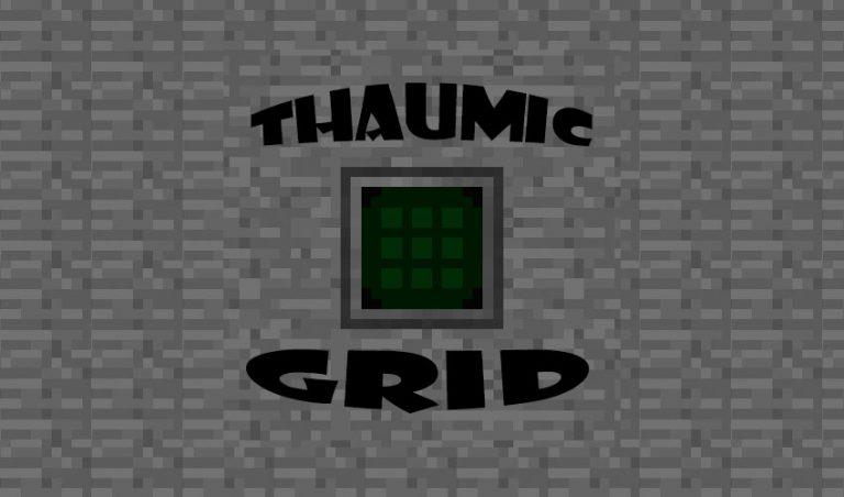 thaumic grid minecraft mod