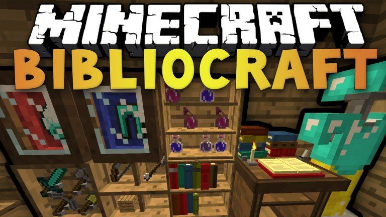 bibliocraft minecraft mod