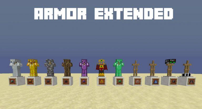 armor extended minecraft mod