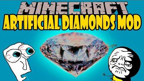 artificial diamonds minecraft mod