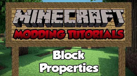 block properties minecraft mod
