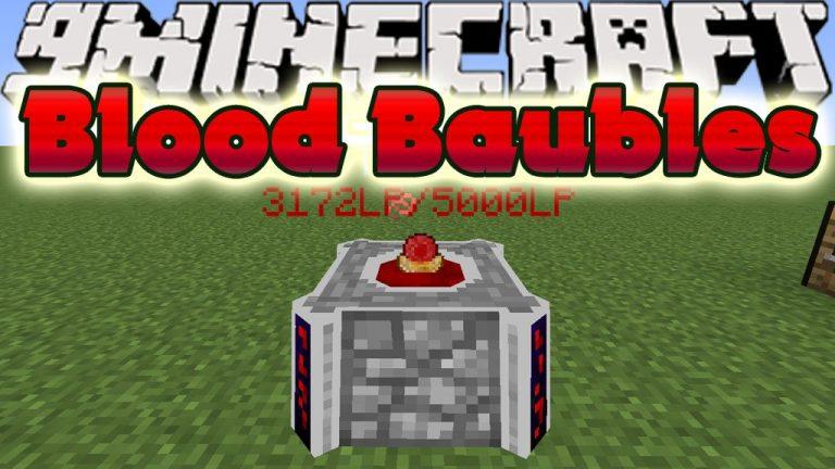 blood baubles minecraft mod