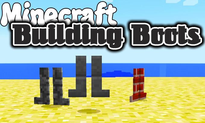 building boots minecraft mod