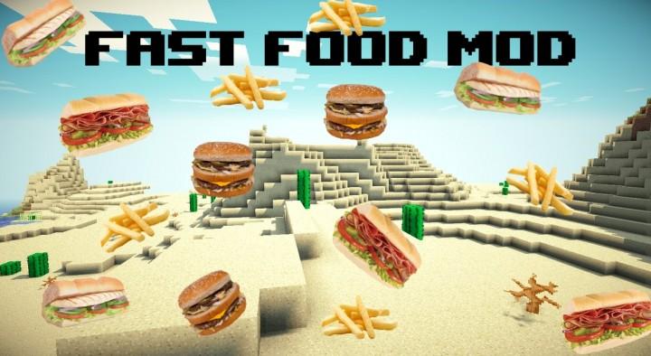 calopteryxs fast food minecraft mod