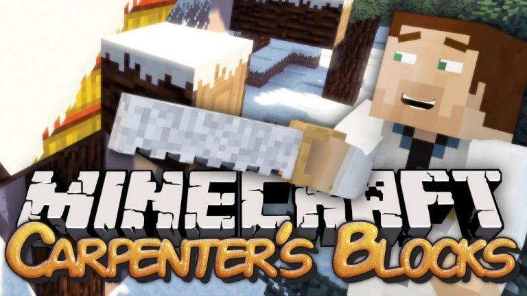 carpenters blocks minecraft mod