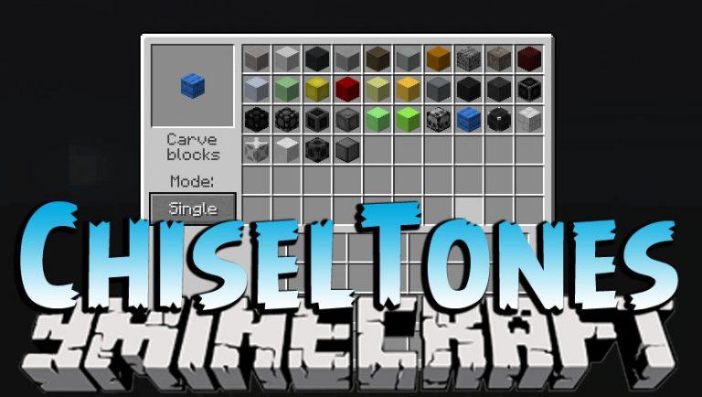 chiseltones minecraft mod