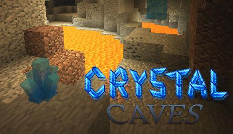 crystal caves minecraft mod