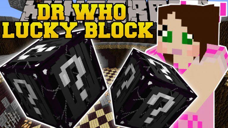 doctor who lucky block minecraft mod