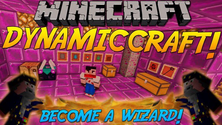 dynamiccraft minecraft mod