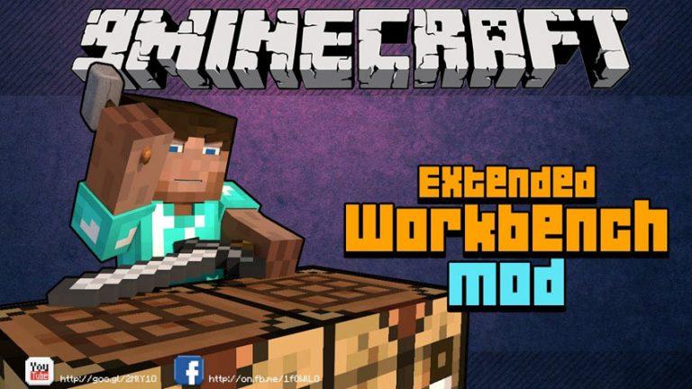 extended workbench minecraft mod