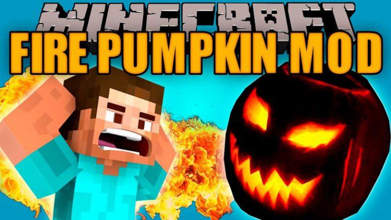 fire pumpkin minecraft mod