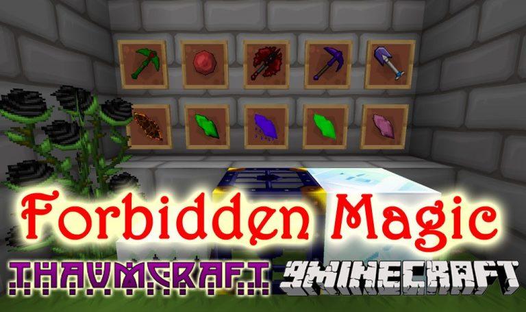forbidden magic minecraft mod