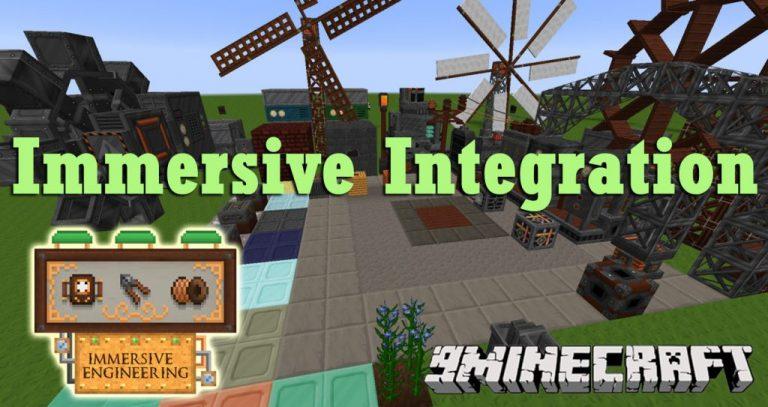 immersive integration minecraft mod
