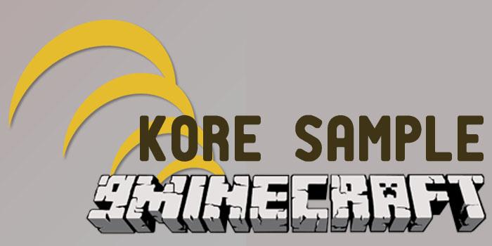 kore sample minecraft mod