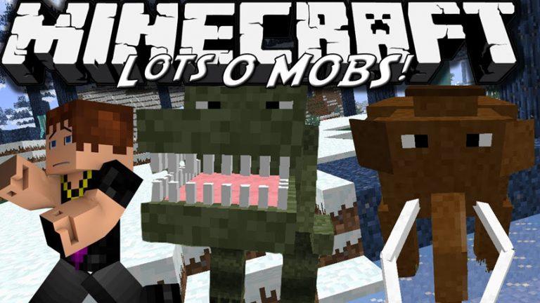 lotsomobs minecraft mod