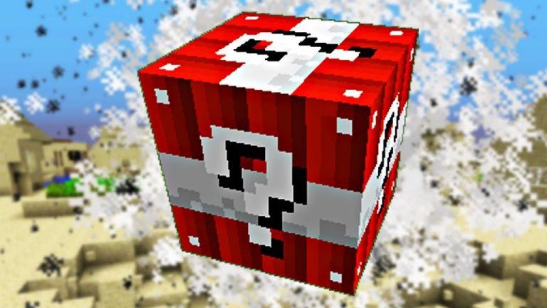 lucky block tnt minecraft mod