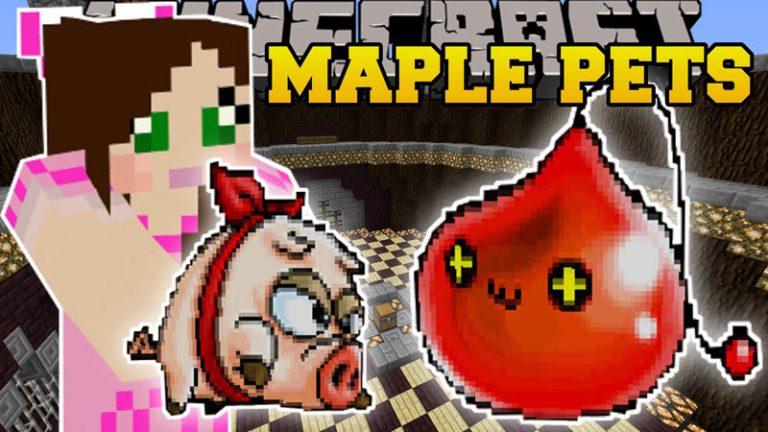 maple pets minecraft mod