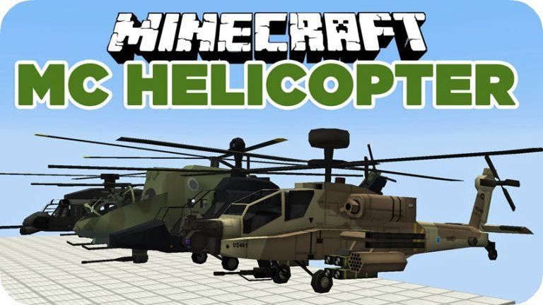 mc helicopter minecraft mod