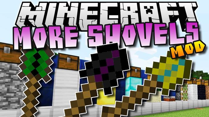 mo shovels minecraft mod