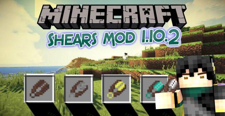 more shears minecraft mod