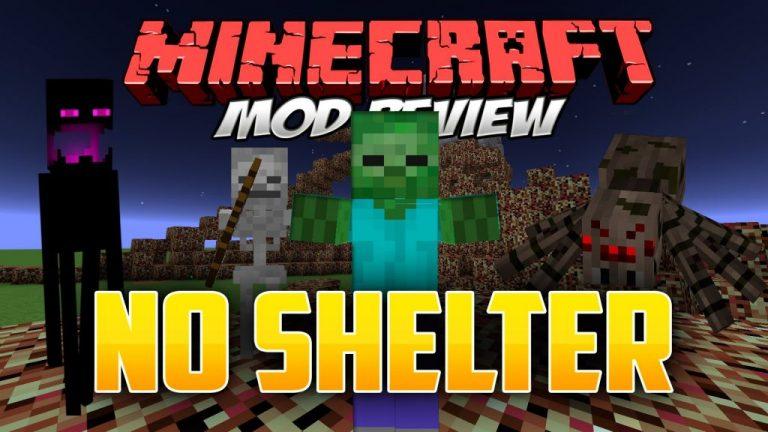 noshelter minecraft mod