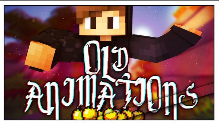 old animations minecraft mod