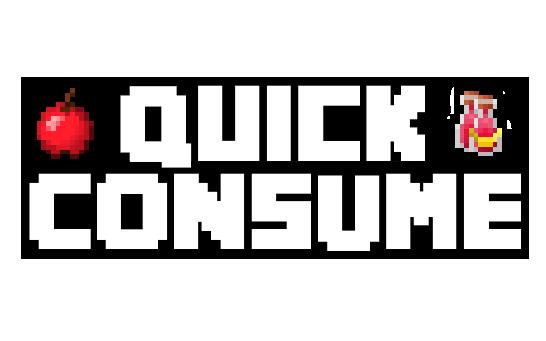 quick consume minecraft mod