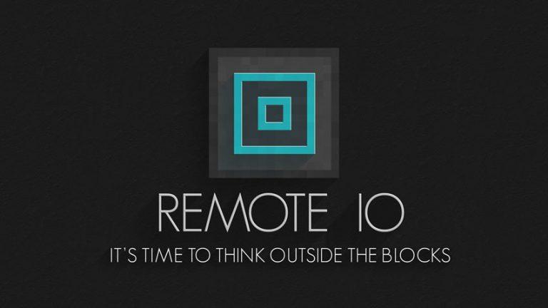 remote io minecraft mod