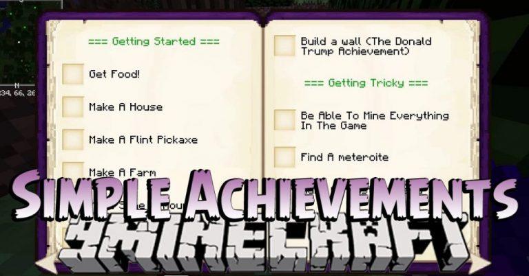 simple achievements minecraft mod