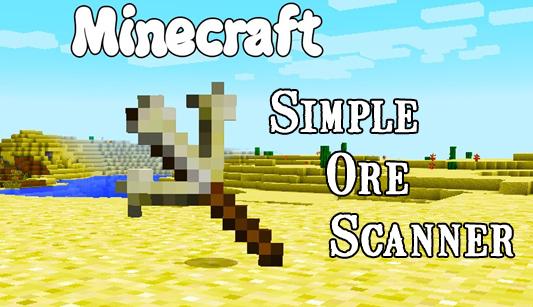 simple ore scanner minecraft mod