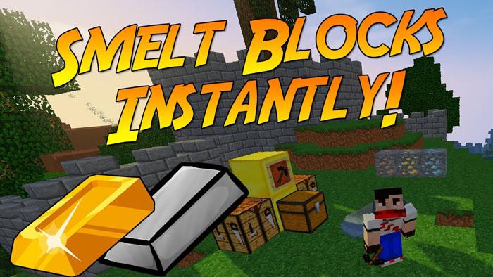 smeltitem minecraft mod