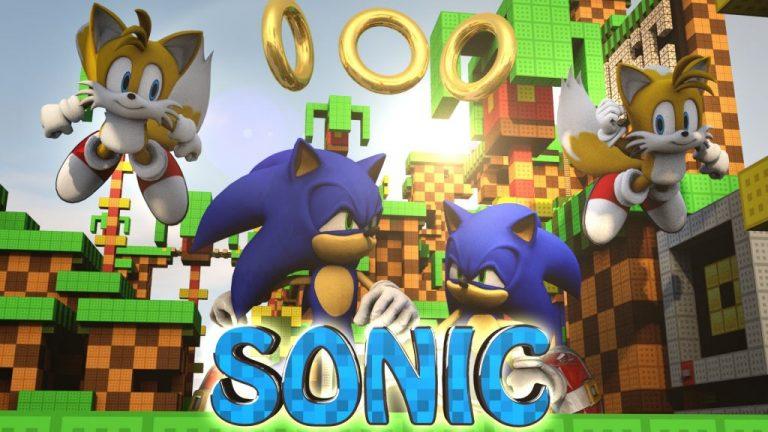 sonic the hedgehog minecraft mod
