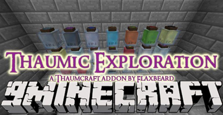 thaumic exploration minecraft mod
