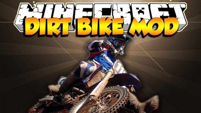 the dirtbike minecraft mod