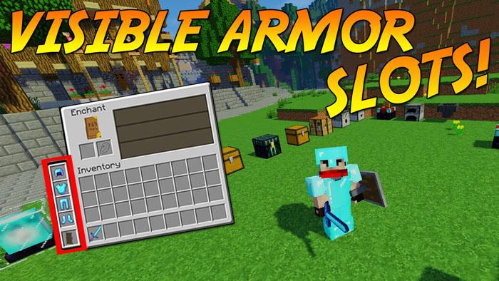 visible armor slots minecraft mod