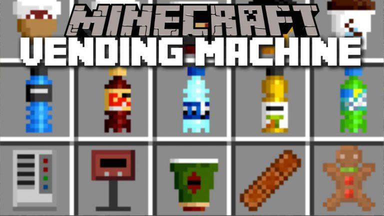 wizards vending machine minecraft mod
