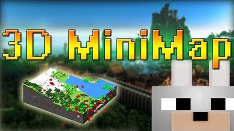 3d minimap minecraft mod