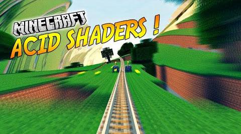 acid shaders minecraft mod