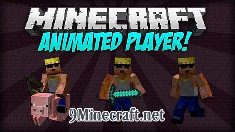 animated player minecraft mod