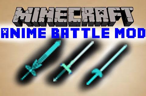 anime battle minecraft mod