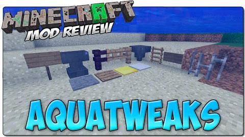 aquatweaks minecraft mod