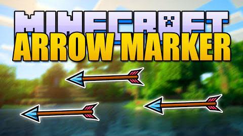 arrow marker minecraft mod