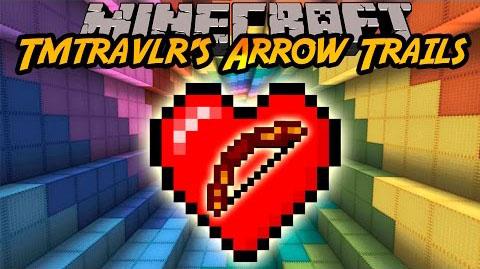 arrow trails minecraft mod