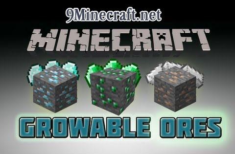 b0bgarys growable ores minecraft mod