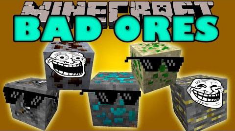 bad ores minecraft mod