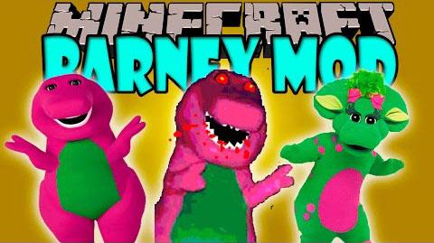 barney minecraft mod