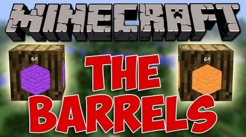 barrels minecraft mod