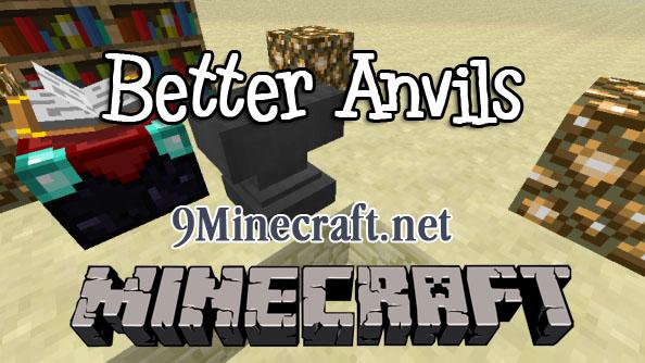 better anvils minecraft mod