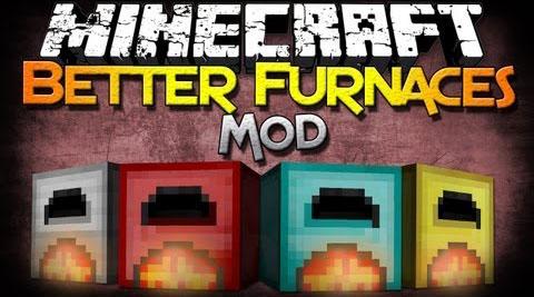 better furnaces minecraft mod